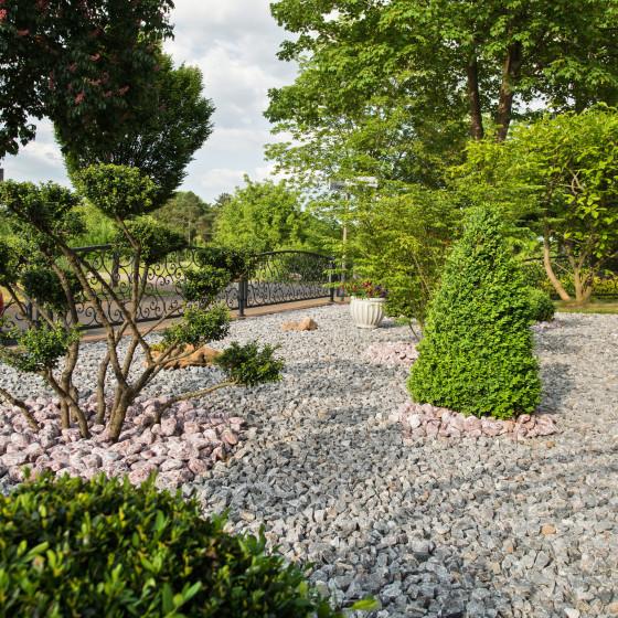 Steingarten Gestaltung