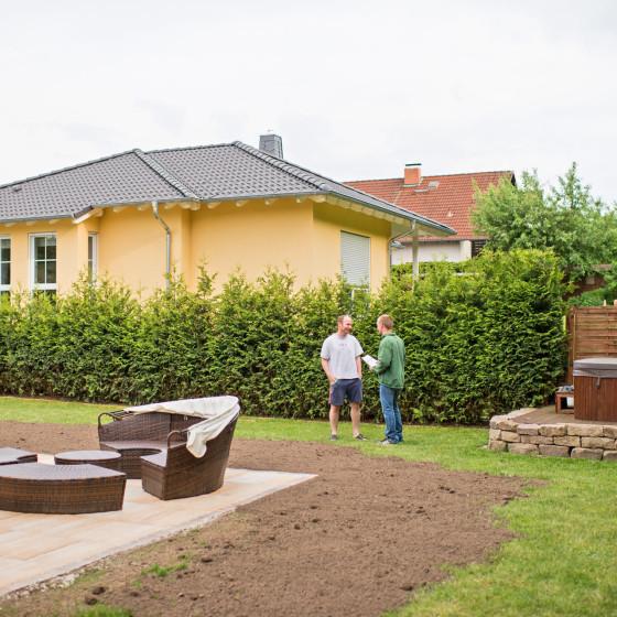 Rasengestaltung Gartengestaltung